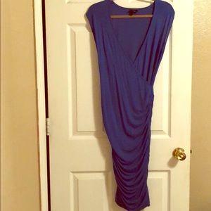 Low Cut Bodycon Dress